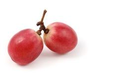 Ciérrese encima de pares de fruta de la uva Foto de archivo libre de regalías