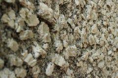 Ciérrese encima de perspectiva de la textura de la superficie de la roca ígnea (más ancha) Imágenes de archivo libres de regalías