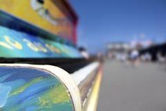 Ciérrese encima de piano de la calle Imagen de archivo