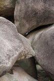 Ciérrese encima de piedra grande en Tailandia Fotos de archivo