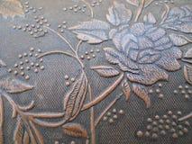 Ciérrese encima de Rose grabada en relieve textura Fotos de archivo