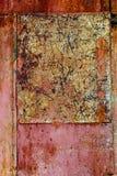 Ciérrese encima de Rusty Metal Background Imagen de archivo libre de regalías