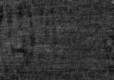Ciérrese encima de textura blanco y negro del dril de algodón con el espacio vacío de la copia Imágenes de archivo libres de regalías