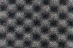 Ciérrese encima de textura gris de la esponja imagen de archivo