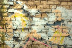 Ciérrese encima de textura de la pared Fondo industrial fotos de archivo