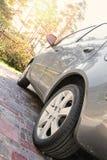 Ciérrese encima de tiro de un coche Imagen de archivo libre de regalías