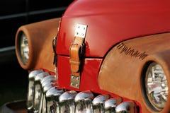 Ciérrese encima de un coche del vintage Imagen de archivo