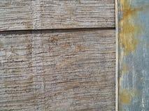 Ciérrese encima de vieja textura de madera del barril Imagenes de archivo