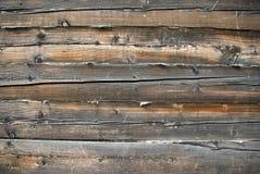 Ciérrese encima de vista de la pared de madera Fotografía de archivo libre de regalías
