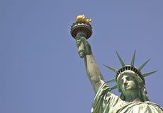Ciérrese encima del cuadro de la estatua de la libertad Fotografía de archivo