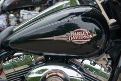 Ciérrese encima del detalle de la motocicleta imágenes de archivo libres de regalías