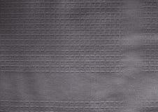 Ciérrese encima del fondo de Gray Textile Texture Imágenes de archivo libres de regalías