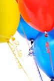 Ciérrese encima del grupo todo del globo Foto de archivo libre de regalías