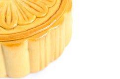 Ciérrese encima del mooncake Imagen de archivo