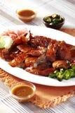Ciérrese encima del pato asado chino Foto de archivo