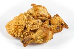 Ciérrese encima del pollo frito Foto de archivo libre de regalías