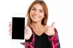 Ciérrese encima del retrato de una chica joven atractiva Imagen de archivo libre de regalías