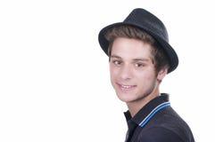 Ciérrese encima del retrato del adolescente lindo sonriente de los jóvenes Imagenes de archivo