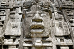 Ciérrese encima del templo de la máscara Fotografía de archivo libre de regalías