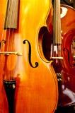 Ciérrese encima del violín Foto de archivo