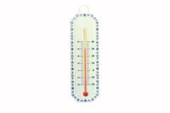 Ciérrese hasta el termómetro Imagenes de archivo