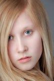Ciérrese para arriba de adolescente bonito Foto de archivo
