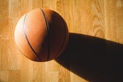 Ciérrese para arriba de baloncesto Imagen de archivo libre de regalías