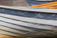 Ciérrese para arriba de barcos Imagen de archivo
