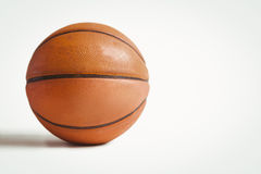 Ciérrese para arriba de bola de la cesta Imagen de archivo libre de regalías