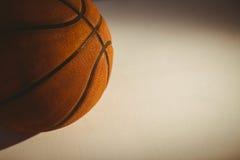 Ciérrese para arriba de bola de la cesta Fotografía de archivo libre de regalías