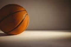 Ciérrese para arriba de bola de la cesta Fotografía de archivo