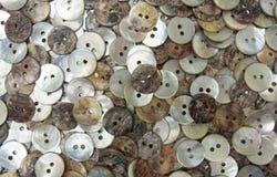 Ciérrese para arriba de botones Fotografía de archivo libre de regalías