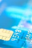 Ciérrese para arriba de de la tarjeta de crédito Fotos de archivo