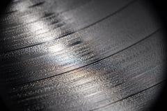 Ciérrese para arriba de disco de vinilo Foto de archivo libre de regalías