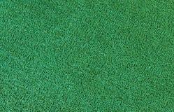 Ciérrese para arriba de fondo de goma verde del piso foto de archivo