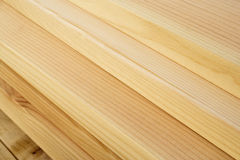 Ciérrese para arriba de grano de la madera de construcción Fotografía de archivo