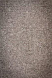 Ciérrese para arriba de Grey Woven Fabric Foto de archivo libre de regalías
