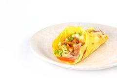 Ciérrese para arriba de kebab Foto de archivo