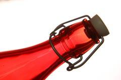 Ciérrese para arriba de la botella de cristal Fotografía de archivo libre de regalías