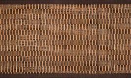 Ciérrese para arriba de la caja de bambú Fotografía de archivo