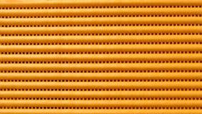 Ciérrese para arriba de la estera de goma anaranjada Foto de archivo libre de regalías