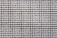 Ciérrese para arriba de la estera impresa rejilla rubberrized gris Imagenes de archivo