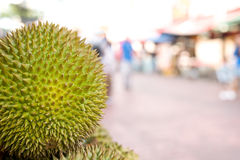 Ciérrese para arriba de la fruta del durian Fotos de archivo