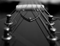 Ciérrese para arriba de la guitarra Imagen de archivo