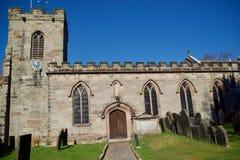 Ciérrese para arriba de la iglesia foto de archivo libre de regalías