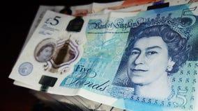 Ciérrese para arriba de la libra Bill fotografía de archivo