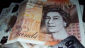 Ciérrese para arriba de la libra Bill fotografía de archivo libre de regalías
