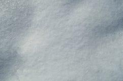Ciérrese para arriba de la nieve blanca Foto de archivo