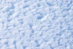Ciérrese para arriba de la nieve blanca imagen de archivo