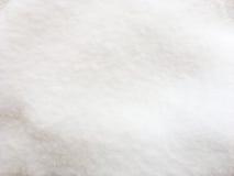 Ciérrese para arriba de la nieve blanca Fotografía de archivo